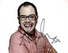 Alan Carr Autograph Signed Photo
